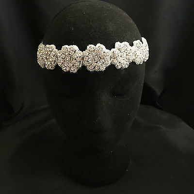 Bridal Headband, Crystal Rhinestone Headband,Tiara, Bridal Hair Accessories Halo