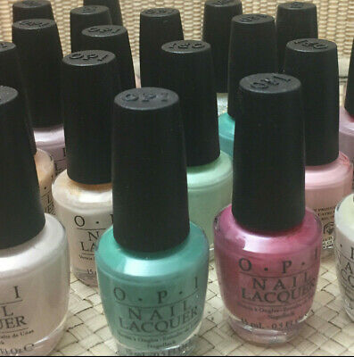 OPI Nail Lacquer Polish. Soft Pastels and Light Shades. Choose your color(s).