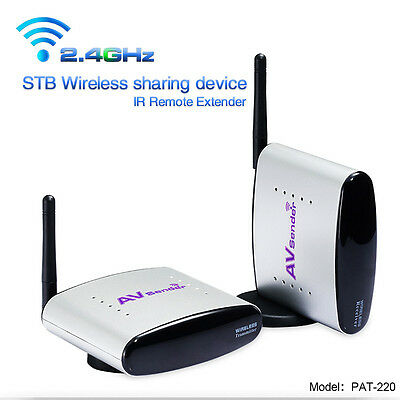 2.4GHz TV STB Signal Wireless A/V Transmitter and Receiver Audio&Video Senders
