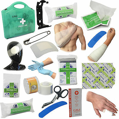 CMS Medical BSI Catering Work Kitchen Chefs Premium First Aid Kits Various Sizes