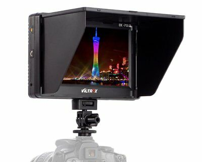 Viltrox 7'' DC-70 II Clip-on Color TFT LCD Monitor HDMI AV Input for DSLR Camera