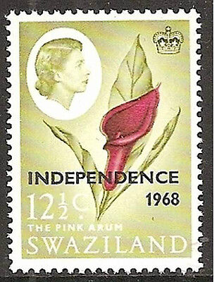 Swaziland 1968 Independence 12½c inverted watermark