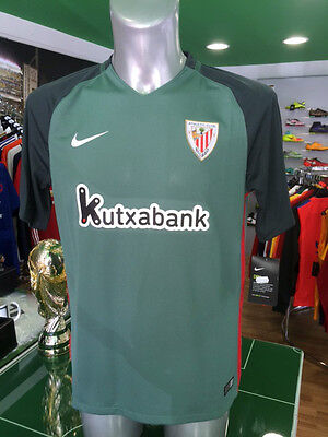 Maglia Calcio Shirt Jersey Football Athletic Bilbao Nike Away Verde 2016/2017