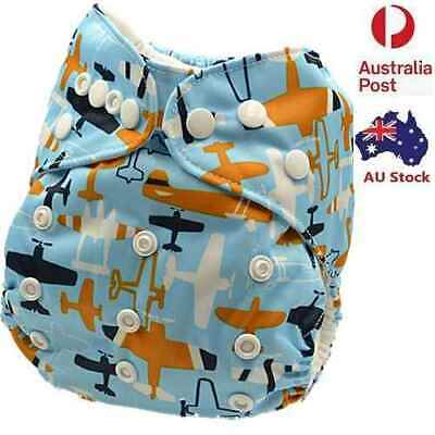 New Modern Cloth Nappy Baby MCN Diaper Waterproof-Outer-Layer Adjustable (D113)
