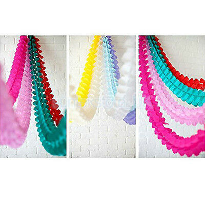 3M Paper Garland Bunting Banner Birthday Party Wedding for Hanging Decoration