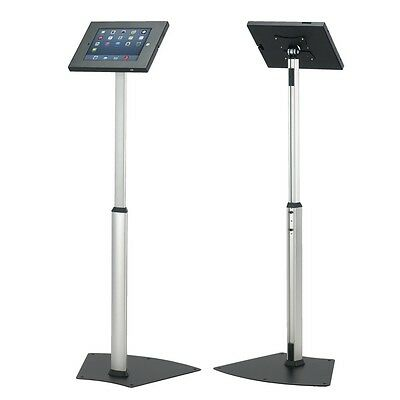 Anti-Theft tablet iPad 2 3 4 Air Secure Floor Stand Lockable Exhibition Display