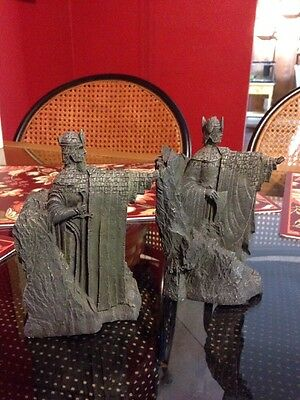 Lord of the rings fantasy mythical magic collectibles 6 368 items picclick - Argonath bookends ...