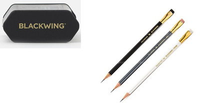 PALOMINO BLACKWING 3Pencils(Original, 602, Pearl 1each) & Pencil Sharpener Set