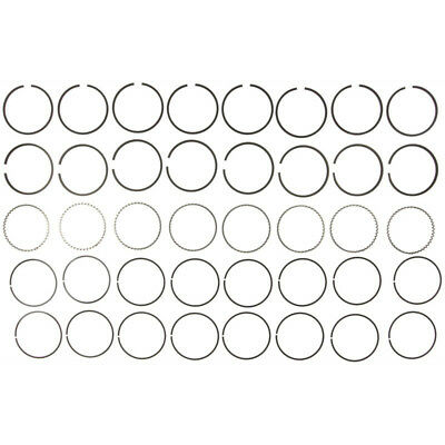 Ford 360 390 410 Perfect Circlemahle Moly Piston Rings Set 1961 76