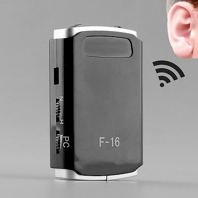 Digital Hearing Aid Aids Mini Adjustable Tone Amplifier Acouophone Acousticon