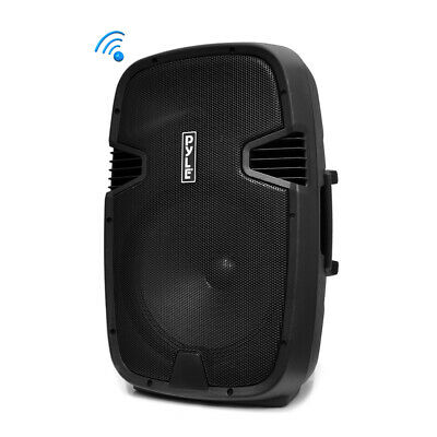 "NEW Pyle PPHP122BMU 12"" 800W Portable Bluetooth Speaker FM Radio w/ Microphone"
