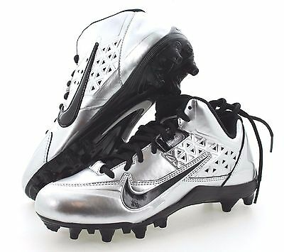 Nike Speedlax 4 Youth Boys Lacrosse LAX Football Shoes Cleats 616299-001 6Y