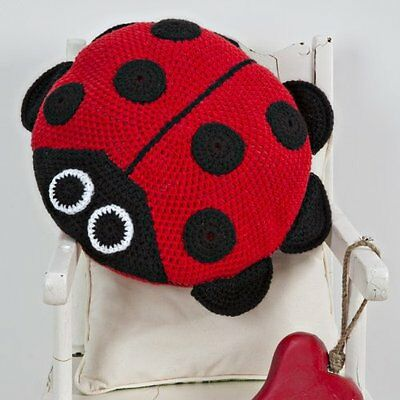 Twilleys - Crochet Kit- Ladybird Cushion - Complete Kit - 2898/4002