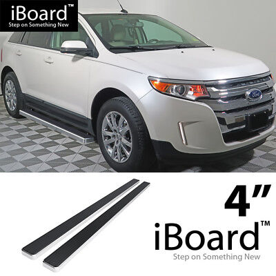 Running Board Style Side Step 6in Black Fit Ford Edge Lincoln MKX 07-14
