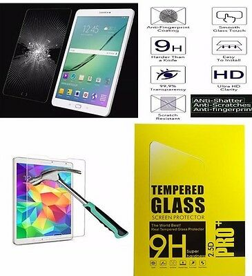 100% Genuine Tempered Glass Screen Protector For Galaxy Tab 4 T230, T231, T235