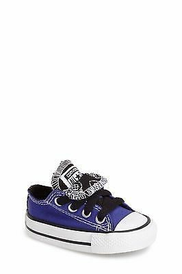CONVERSE ALL STAR-CHUCK Low Top -Sample Sale US Infant 7 Periwinkle ... 95847c1b3