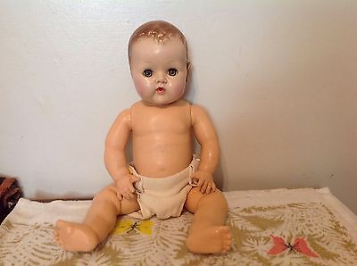 "21"" Effanbee Dy dee Baby Needs Alittle Love Sweet Doll"