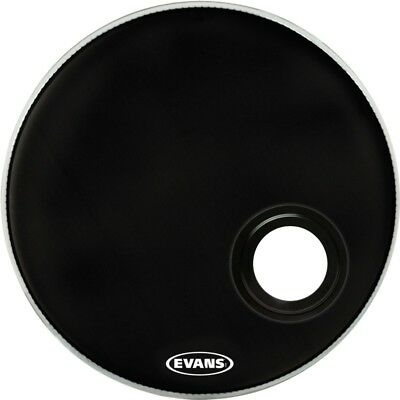Evans EMAD Resonant Bass Drum Head Black 24 in.