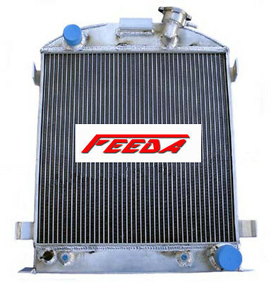 New 3 ROW Aluminum Radiator for 1932 FORD CHOPPED CHEVY ENGINE