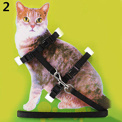 Nylon Cat Puppy Pet Harness Collar Lead Leash Traction Safety Rope Exquisite