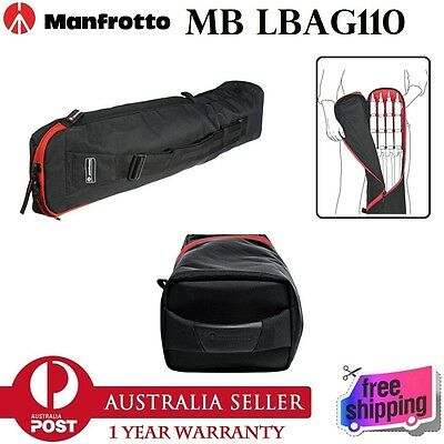 100% New Genuine Manfrotto MB LBAG110 Quick Stack Large Bag for 3 Light Stand