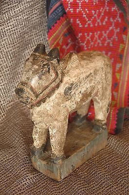Old Tibetan Carved Wooden Horse …beautiful accent piece
