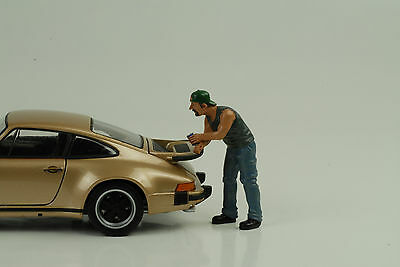 Hanging Out Billy Figurines 1:24 AMERICAN DIORAMA NO CAR