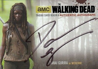 The Walking Dead Season 4 Part 2 - Dg2 Danai Gurira (Michonne) Autograph (1)