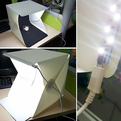 Light Room Photo Studio Soft Photography New Lighting Tent Kit Backdrop Cube Box