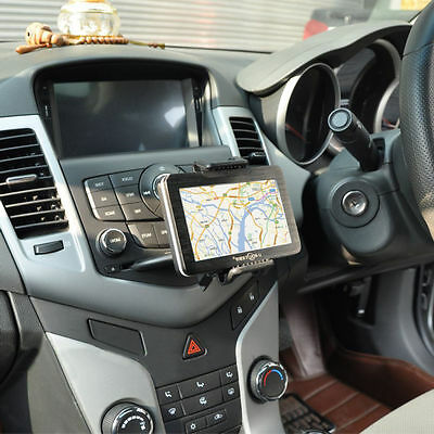 Universal Fit Car CD Slot Mobile Phone GPS Sat Nav Stand Holder Mount Cradle