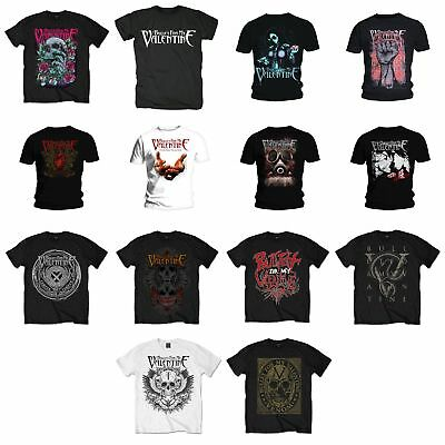 Bullet For My Valentine Men's T-Shirt Tee Album Covers Tour Fan Gift Official