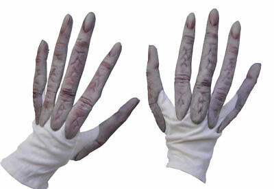 Morris Costumes Adult Latex Alien Hands Gloves One Size. 1020GBS