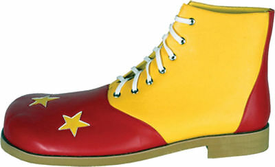 Morris Costumes Men's New Clowns Deluxe Shoes Red Yellow 14. HA59RYLG