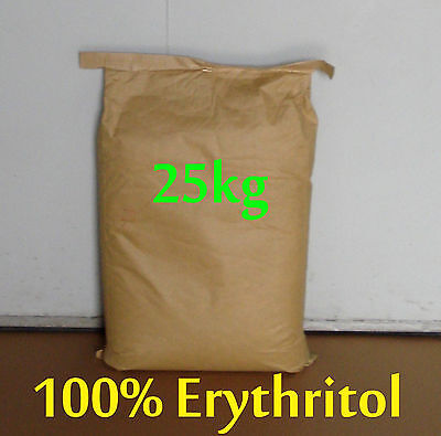 25kg Erythritol 100% Pure Natural Sweetener Sugar Replacement