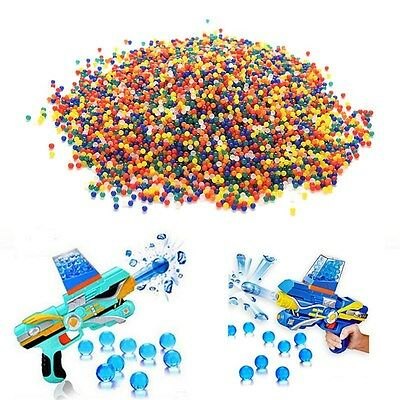 10000pcs Pearl Crystal Candy Color Jelly Balls Cute Beads Bio Gel Grow Wedding