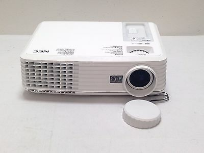 Nec Np100 Lcd Projector Used Unknown Lamp Hours No Remote | Ref:697