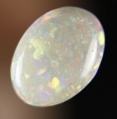 0.8ct ~ GORGEOUS RED GREEN GENUINE LIGHTNING RIDGE SOLID CRYSTAL OPAL GEM ~ a303