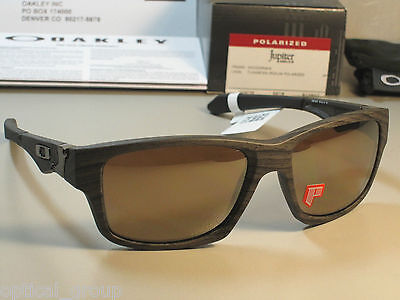 OAKLEY POLARIZED JUPITER SQUARED OO9135-07 WOODGRAIN/TUNGSTEN IRIDIUM OZ seller