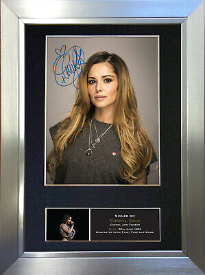 CHERYL COLE Signed Autograph Mounted Photo Reproduction A4 Print no237