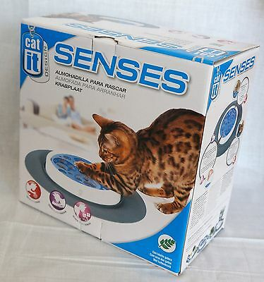 NEW Catit Design Senses SCRATCH PAD Toy For Cats & Kittens