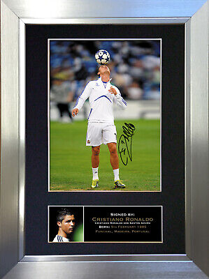 CRISTIANO RONALDO Football Signed Autograph Mounted Photo Repro A4 Print 139
