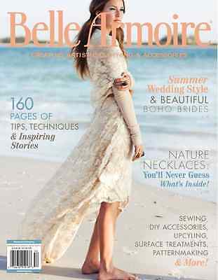 Belle Armoire Magazine by Stampington Summer 2015 (Originally £14.95)