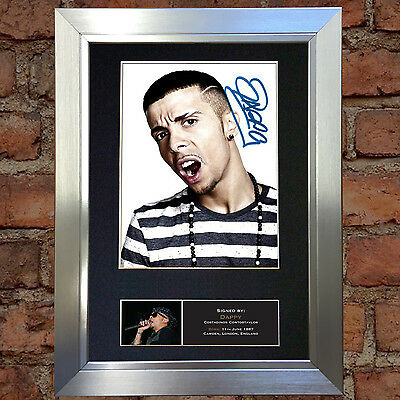 DAPPY Signed Autograph Quality Mounted Photo Reproduction A4 Print 443