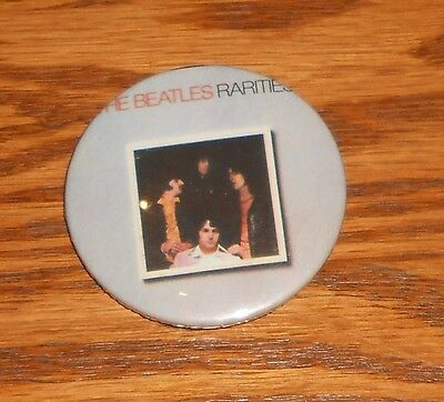 The Beatles Button 80s Pin 2 1/4""