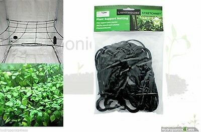 Hydroponic Grow Tent Scrog Net Plant Support Mesh Netting 50 60 80 100 120cm
