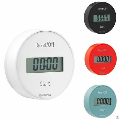 Brabantia Timer Electronic Count Down Up Magnetic Digital Round  *TRACKED*