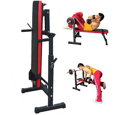 Heavy Duty Folding Weight Bench Flat/Incline/Decline Gym/Dumbbell Exercise SY