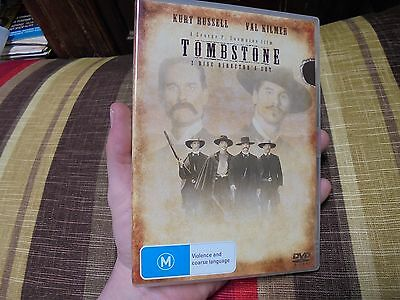 TOMBSTONE_Kurt Russell_Val Kilmer_used DVD_ships from AUS!_zz2_bo10