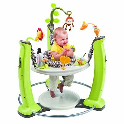 Baby ExerSaucer Jumper  Jumping Exercise Activity Center Boucing Jungle Quest