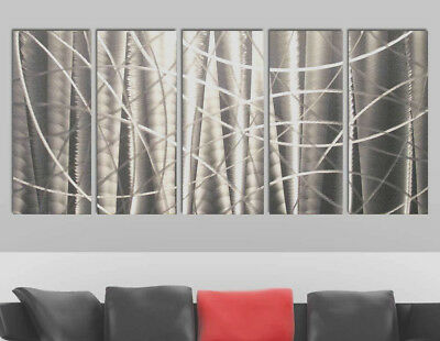Metal Modern Abstract Wall Art Painting Sculpture